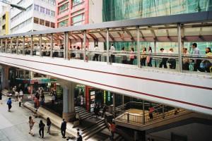 Mid levels Escalators